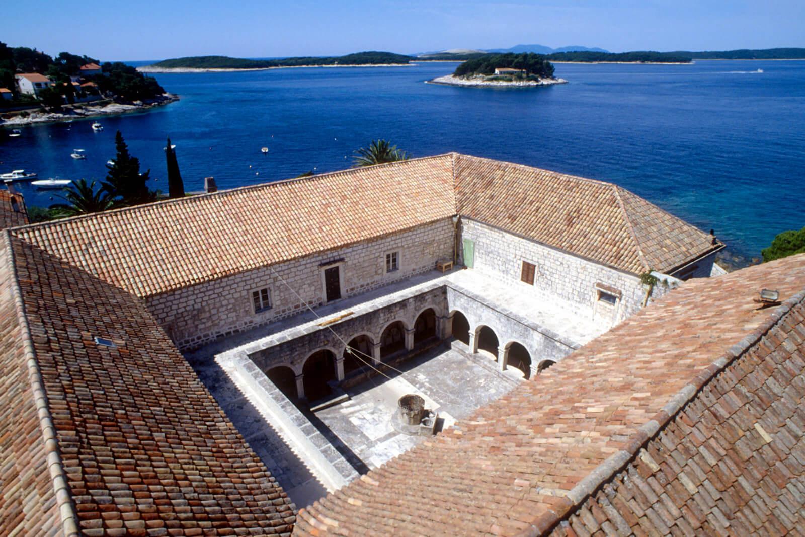 Hvar, Franciscan monastery