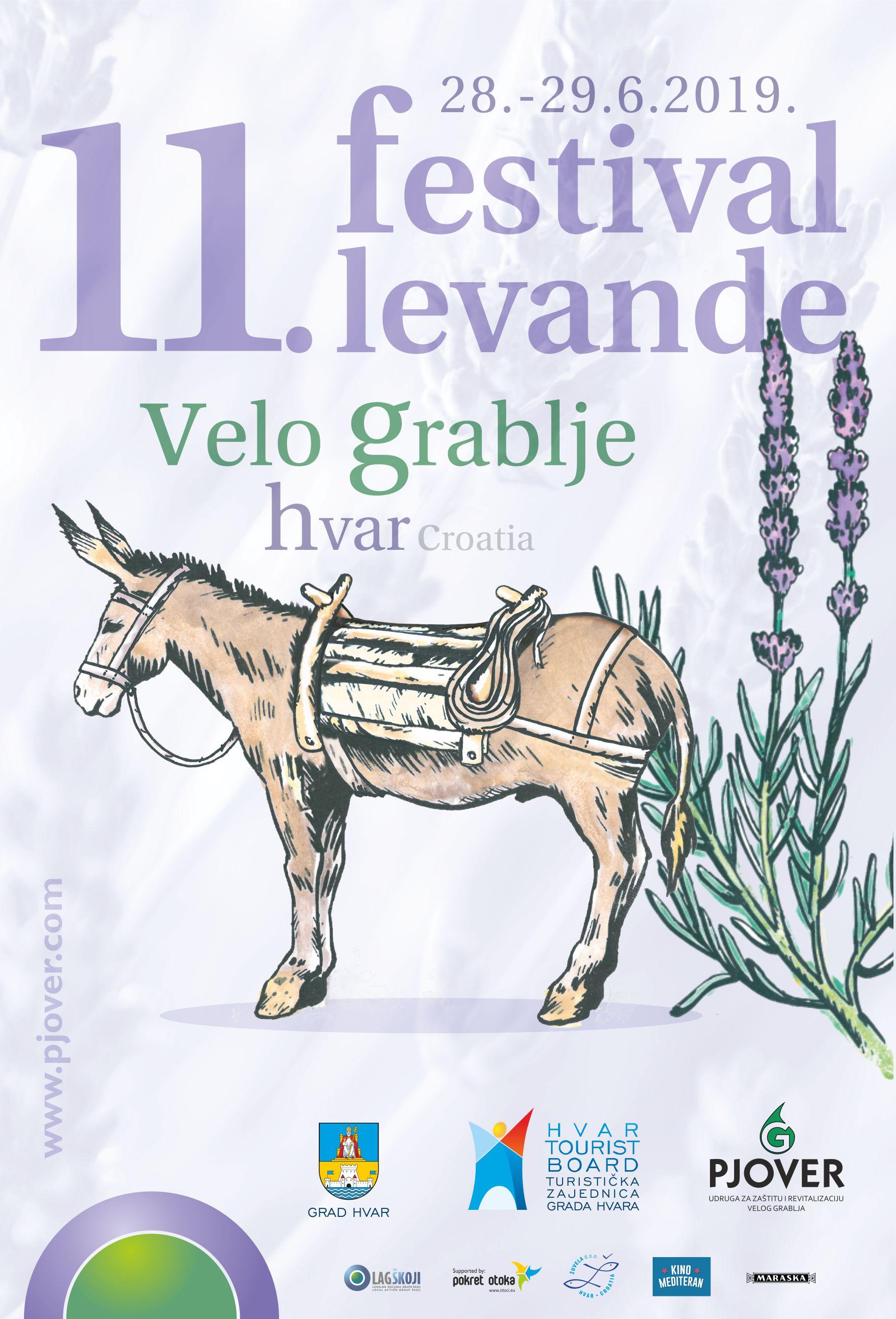11th Lavender Festival – Velo Grablje | Hvar Tourist Board