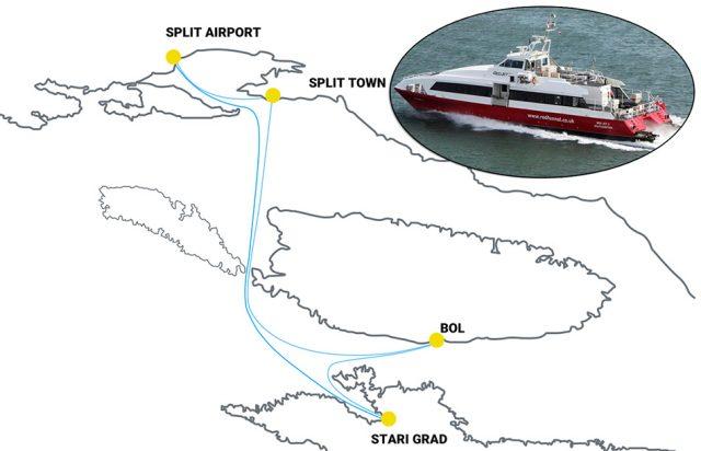 New ferry company – Adriatic Fast Ferries d o o  | Hvar